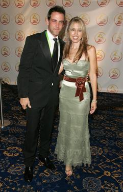 Carlos Ponce and his wife Veronica Ponce at the 2006 Latin Recording Academy Person Of The Year Tribute.